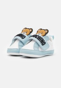 MOSCHINO - UNISEX - First shoes - white/light blue - 1