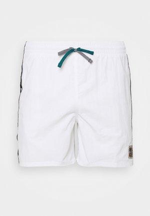 VOLLEY SHORT LOGO TAPE - Zwemshorts - white