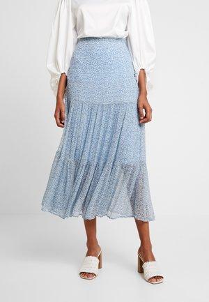 FELICIA SKIRT - Plisovaná sukně - blue
