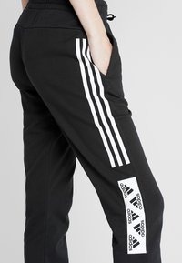 adidas Performance - BLOCK PANT - Verryttelyhousut - black - 4