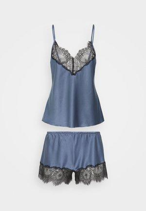 TOP AND SHORT - Pigiama - china blue