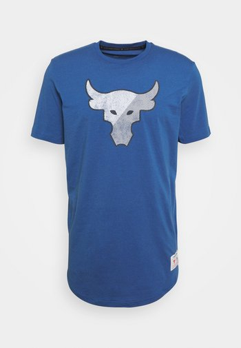 TRAINING DEPT - Print T-shirt - blue
