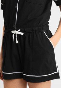 DKNY Intimates - TOP BOXER PJ - Pyjama set - black - 5