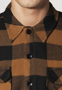 Dickies - SACRAMENTO - Camisa - brown duck - 4