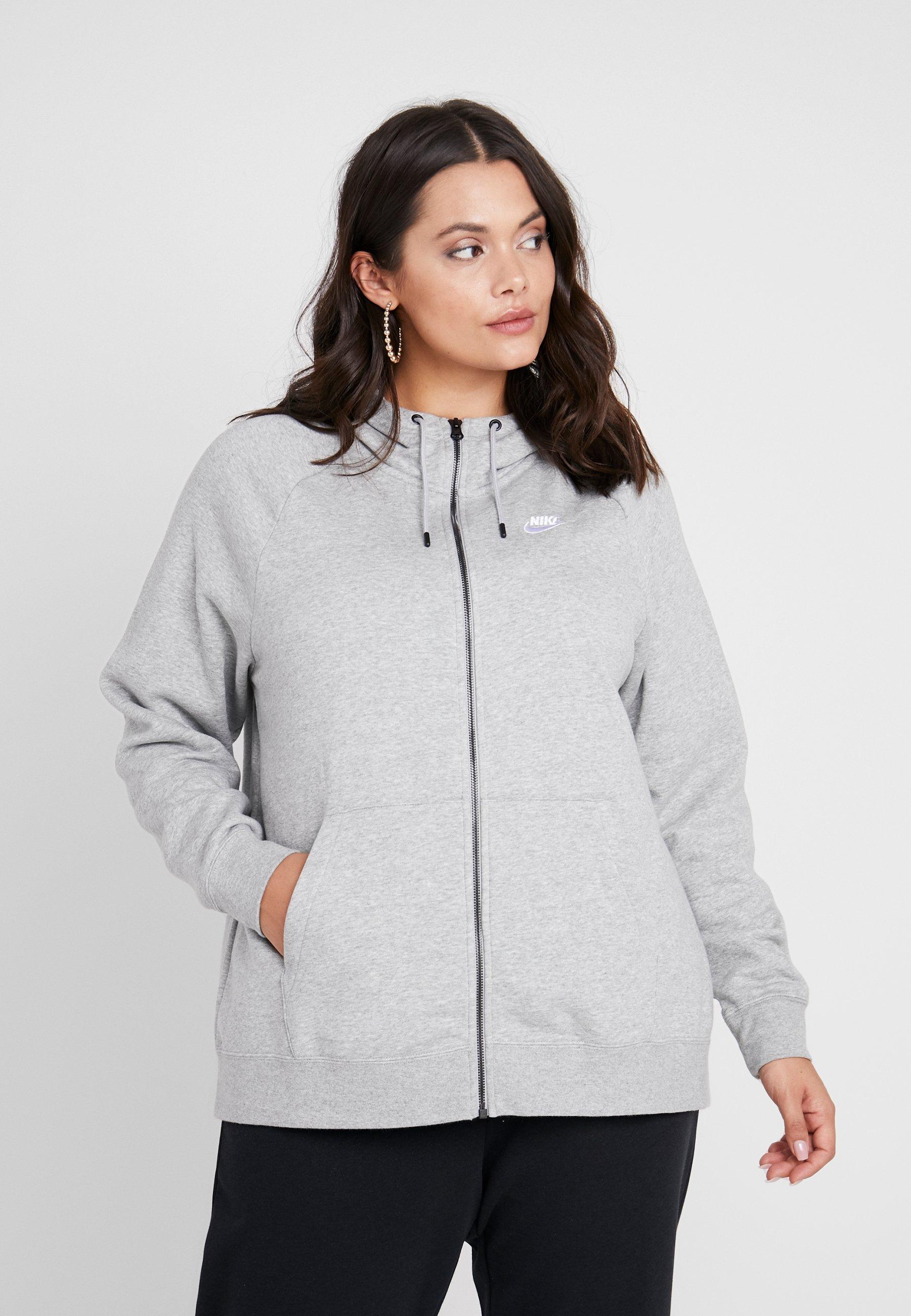 Women HOODY PLUS - Zip-up sweatshirt