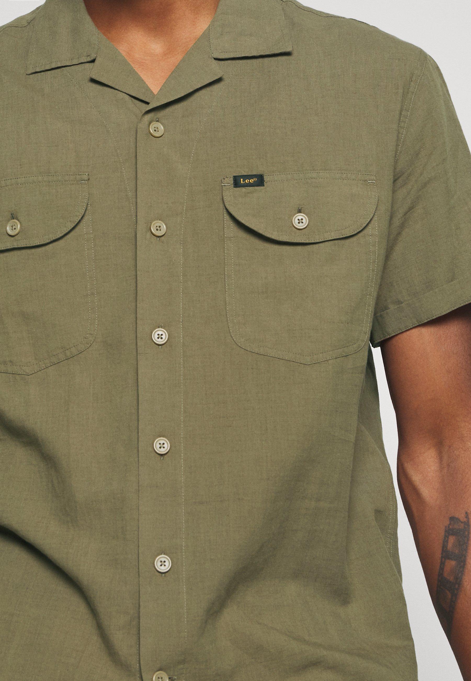 Lee WORKERSHIRT - Skjorte - utility green