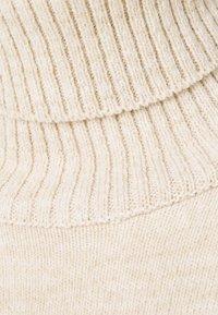 Dorothy Perkins - COSY ROLL NECK DRESS - Jumper dress - oatmeal - 5