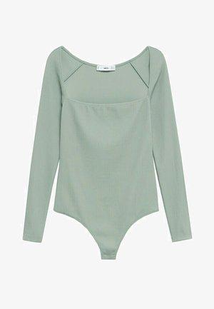 BLACKIE - Long sleeved top - wassergrün