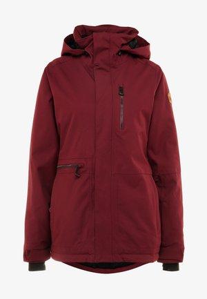 SHELTER - Snowboardjacke - scarlet