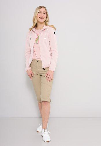 ADRIAN - Zip-up hoodie - rosenrot