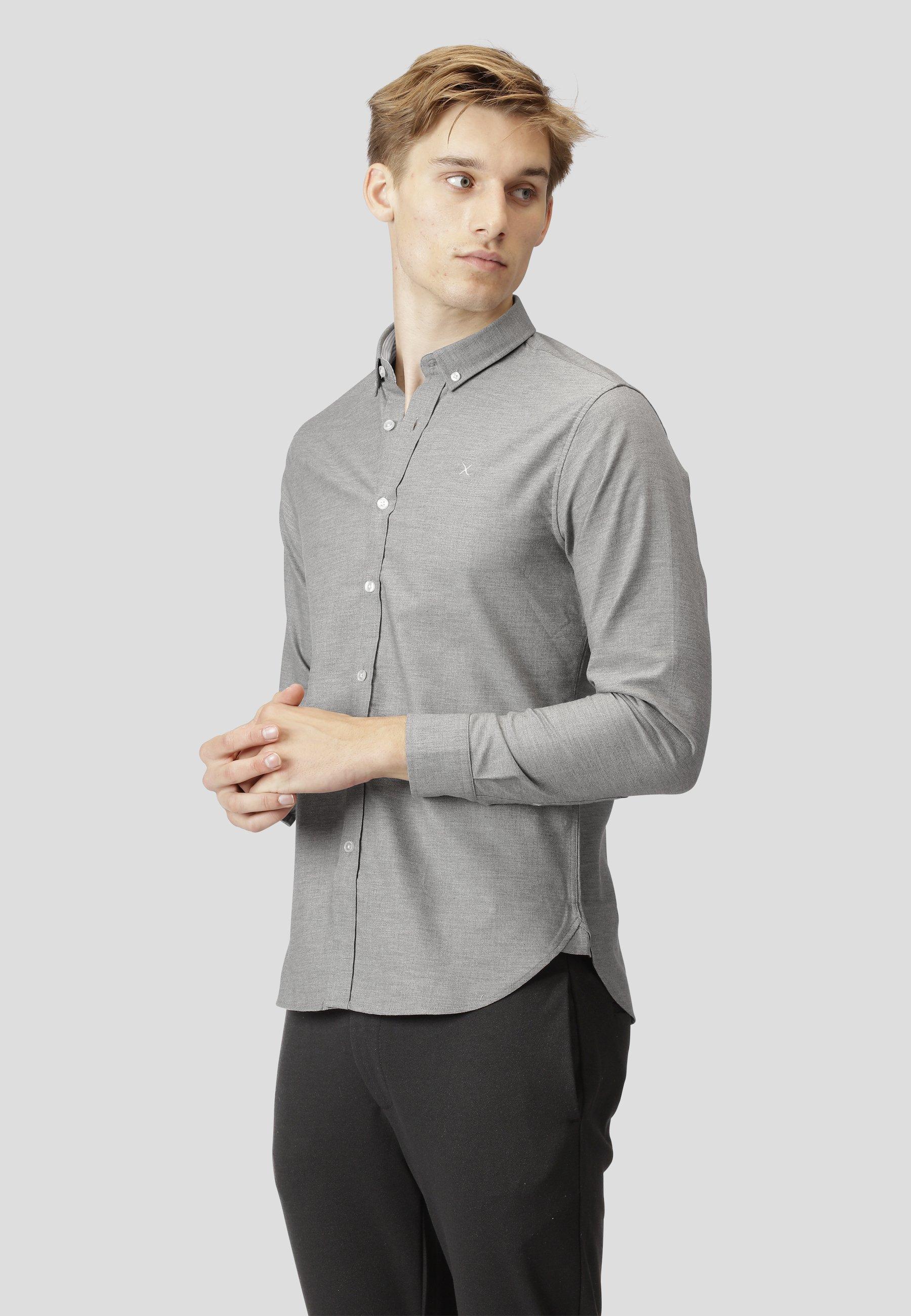 Uomo OXFORD L/S - Camicia