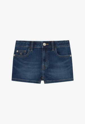 STRAIGHT - Denim shorts - denim