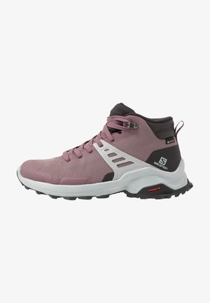 X RAISE MID GTX - Outdoorschoenen - flint/phantom/quarry