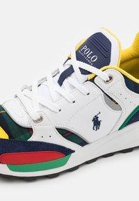 Polo Ralph Lauren - TRACKSTR TOP LACE UNISEX - Trainers - multicolor - 5