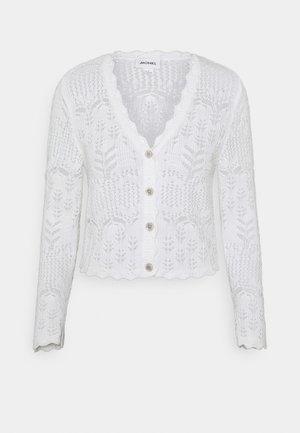 PEARL CARDIGAN - Cardigan - white