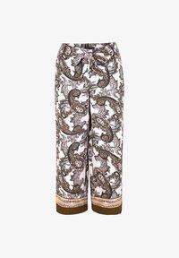 comma - Trousers - beige aop - 4
