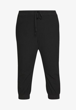 CAPRI PANTS - Trousers - black deep