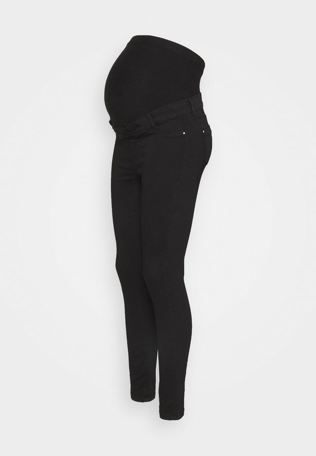 ORGANIC OVERBUMP FRANKIE - Jeansy Skinny Fit - black