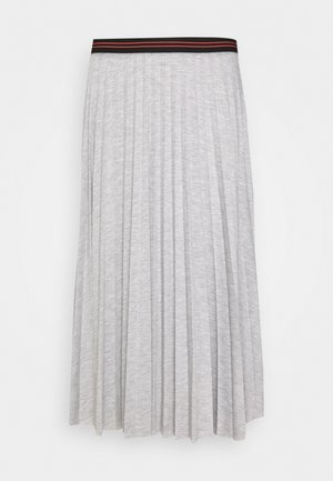 A-line skirt - light grey melange
