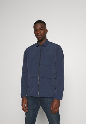 OVERSHIRT VEGAN - Summer jacket - dark blue
