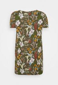 ONLY Carmakoma - CARLUXINA DRESS  - Day dress - kalamata - 1