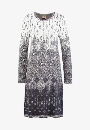 DRESS - Strikket kjole - off-white