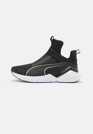 FIERCE 2 REFLECTIVE  - Sports shoes - black/metallic silver