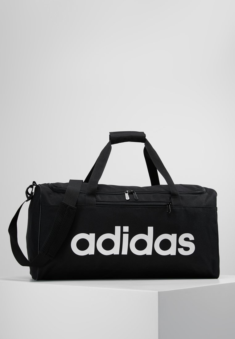adidas Performance - LIN CORE  - Sports bag - black/white