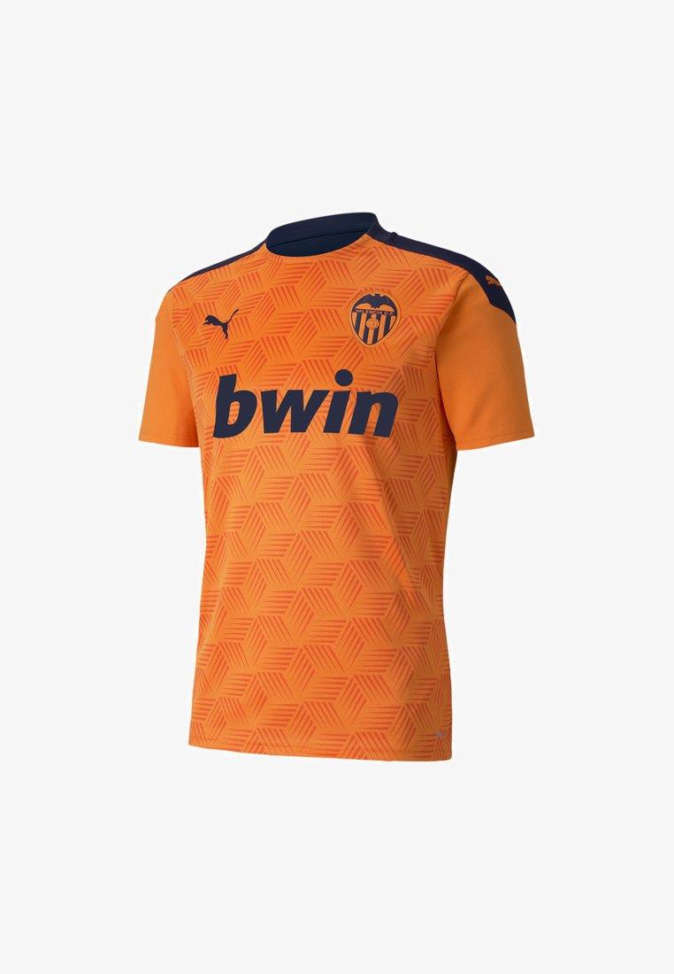 Puma - VALENCIA CF - T-shirt med print - vibrant orange-peacoat