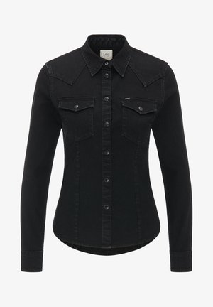 WESTERN - Button-down blouse - black