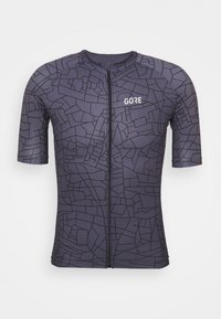 GOTHAM MENS - T-Shirt print - graystone/black