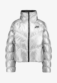 Nike Sportswear - FILL SHINE - Winter jacket - metallic silver/black - 3