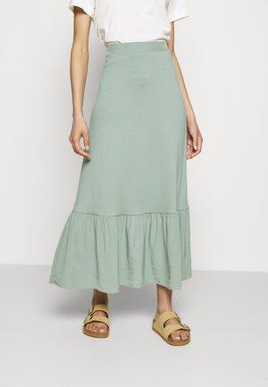 TIERRING SKIRT - Spódnica trapezowa - turquoise