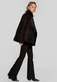 Stradivarius - Winter coat - black - 1