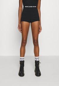 Versace Jeans Couture - PANTS - Shorts - black - 0
