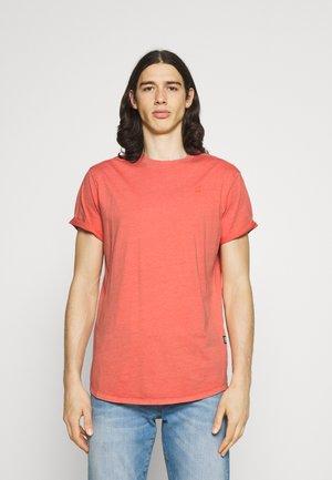 LASH  - T-shirt basic - dull berry