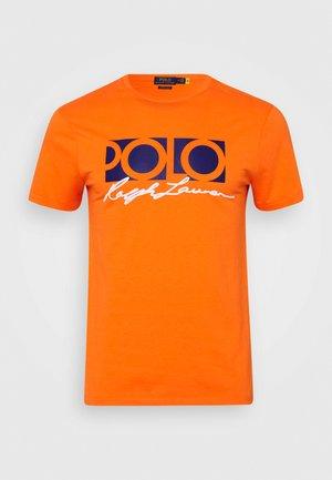 SHORT SLEEVE - T-shirt con stampa - spectrum orange