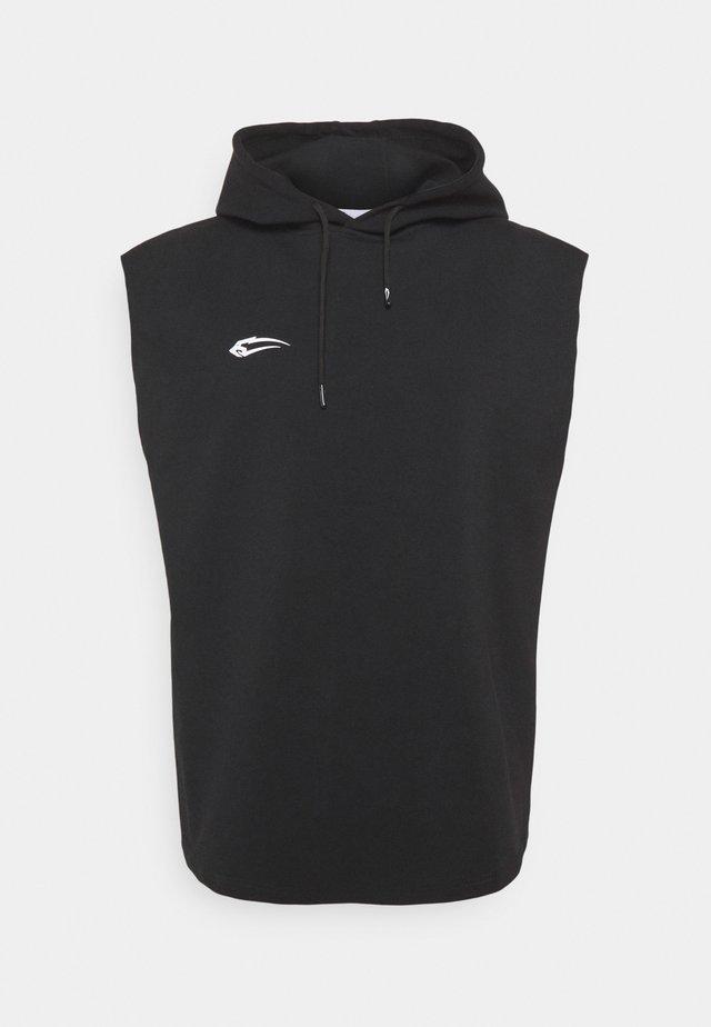 HOODED  - Sweatshirt - schwarz