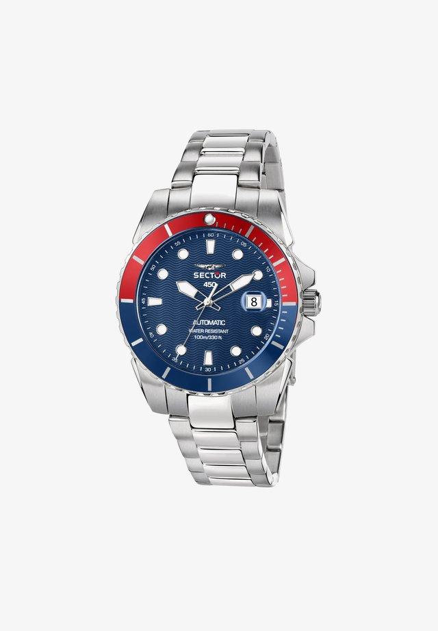 Horloge - blau/silber