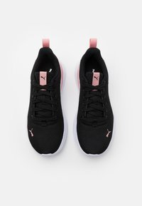 Puma - ANZARUN LITE - Zapatillas de entrenamiento - black/white/bridal rose - 3