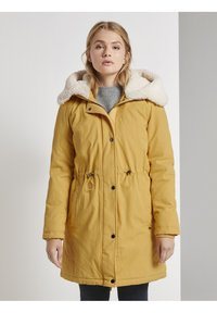 TOM TAILOR DENIM - Parka - indian spice yellow - 0