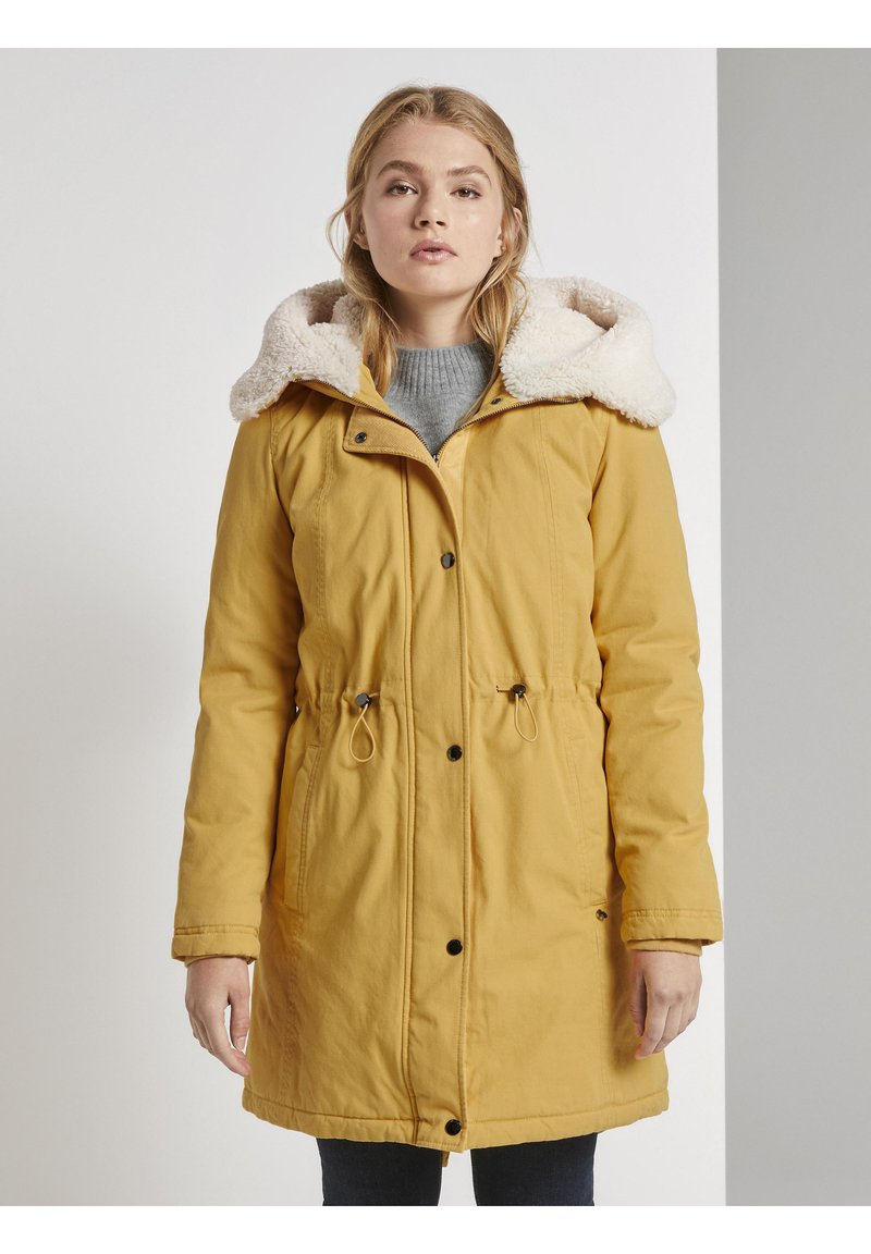 TOM TAILOR DENIM - Parka - indian spice yellow