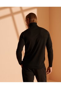 Superdry - MERINO ROLLNECK - Trui - nightwatch black - 2