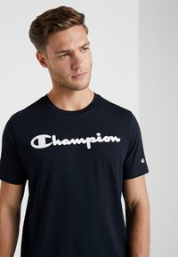 Champion - CREWNECK - T-shirts print - dark blue - 3