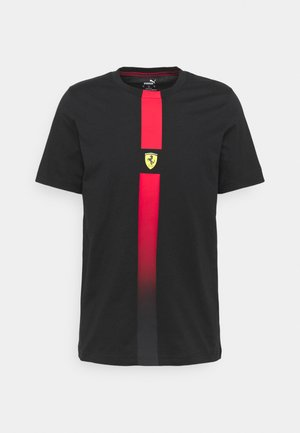 FERRARI RACE TEE - Camiseta estampada - black