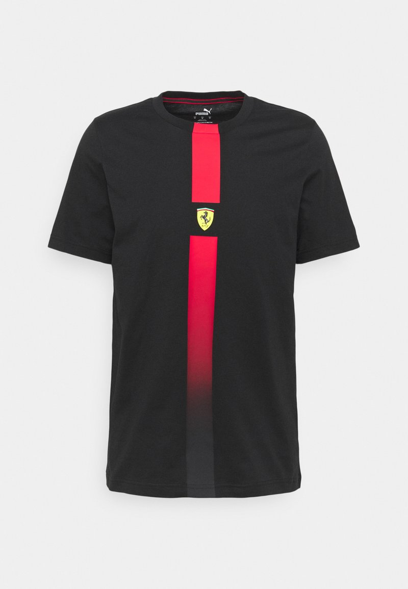Puma - FERRARI RACE TEE - Print T-shirt - black