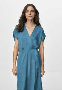 Massimo Dutti - Day dress - blue - 1
