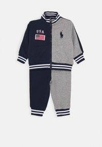 Polo Ralph Lauren - HOOK UP SET - veste en sweat zippée - newport navy - 0