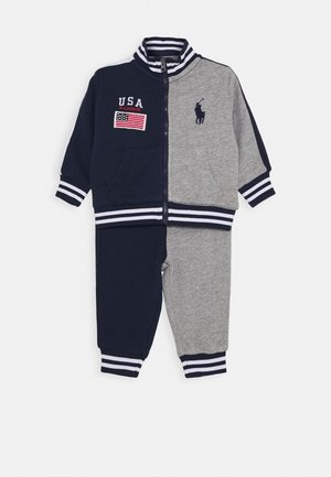 HOOK UP SET - veste en sweat zippée - newport navy