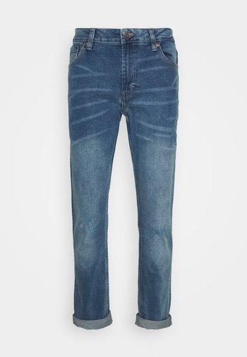 MR RED LIGHT DESTROY - Jeans slim fit - sicily blue
